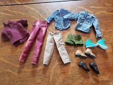 Barbie Ken Clothes Shoes Lot