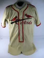 Late 1940's St Louis Cardinals #5 Minor League Game Used Baseball Jersey