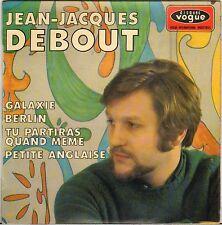 """JEAN JACQUES DEBOUT / FRANCOISE POURCEL """"GALAXIE"""" 60'S EP VOGUE 8620"""