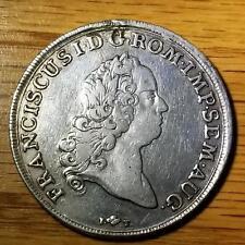 German States Augsburg 1765 IT-F Neat Old Silver Thaler KM184 #615