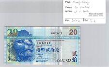 BILLET HONG KONG - 20 DOLLARS - 1.1.2006