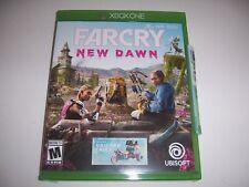 Original Box Case Xbox One XB1 - FARCRY FAR CRY NEW DAWN