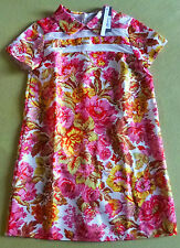 ROBE MOTIF FLEURS-MADE IN BRITAIN-VETEMENT FILLE- FEMME-MARQUE LOVE-TAILLE S-