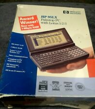 Hewlett Packard HP 95LX Vintage Palmtop Computer-Boxed With Manuals 1991