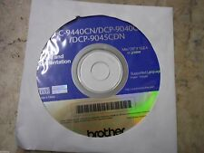 New! Genuine Brother MFC 9440CN DCP 9040CN Printer CD Software Drivers Utilities