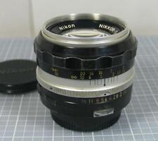 Nikon Nikkor-S Auto 50mm f/1.4 Non AI Fast Manual Focus Lens