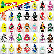 Little Trees Hanging Air Freshener Choose Scent Car Truck RV Home Office PACK 6