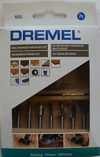 Dremel 660 DREMEL® MULTIPURPOSE ROUTER BIT SET 26150660JA