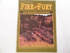 FIRE AND FURY GREAT WESTERN BATTLES SCENARIO BOOK  - WARGAMES RULES - NEW
