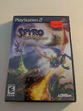 THE LEGEND OF SPYRO DAWN OF THE DRAGON BLACK LABEL PLAYSTATION 2 PS2 NEW SEALED!