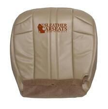 2004 Jeep Grand Cherokee Driver Side Bottom Synthetic Leather Seat Cover Tan