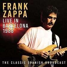 Frank Zappa - Live In Barcelona 1988 NEW 2 x CD