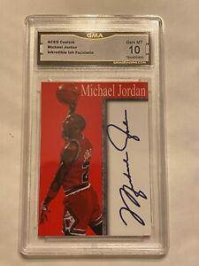Michael Jordan Graded 10 Card
