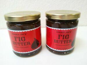 2 PACK Trader Joe's Fig Butter Fruit Spread Fruit 11 oz Per Jar