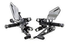 Yamaha R1 14B 14BE 2009-2014 Gilles VCR38GT Negro Rearsets del mercado de accesorios