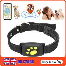 Smartphone GPS Dog Cat Pet Finder Tracker GSM Locator Collar Tracking Alarm UK