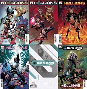 Hellions (#1, #2, #3, #4, #5, #6 inc. Variants, 2020)