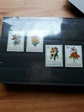 timbre luxembourg (th) lot 63   neufs   n1140/3   fleurs