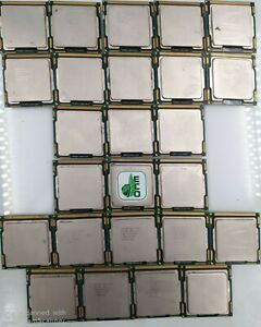 Lot of 25 Intel Core i3-530 x (13) + i3-540 x (3) + i3-550 x (9)  2.93GHz