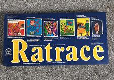 Vintage Waddingtons 1973 ratrace Board Game Rat Race