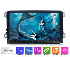 "9"" Double Din Android 8.1, WIFI, CAMERA, VW, SKODA, SEAT Car Stereo Radio, Sat N"