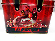 STAR WARS ROTJ Return Of the Jedi TIN Container 1983 with Great Artwork!