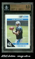NFL Football - 2011 Score #315 Cam Newton RC - BGS Gem Mint 9.5 (PSA 10 Cross?)