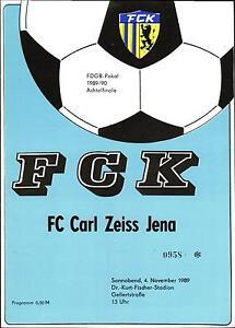 FDGB-Pokal 89/90 FC Karl-Marx-Stadt - FC Carl Zeiss Jena, 04.11.1989