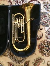 KING 2280 4 VALVE EUPHONIUM Lacquer - With Hard Case & Mouthpiece