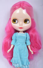 """Takara 12"""" Neo Blythe Rose Red Hair Nude Doll from Factory Tbo122"""