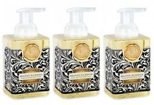Set/3 Michel Design Works Foaming Liquid Hand Soap Black Florentine Honey Almond