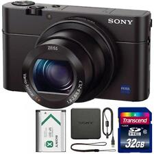 Sony Cyber-shot DSC-RX100 III Digital Camera + 32GB SDHC Memory Card