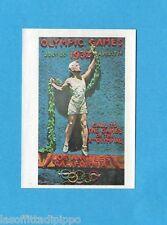 MONTREAL 76-PANINI 1976-Figurina n.52- LOS ANGELES 1932 - MANIFESTO -Recuperata