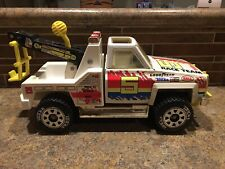 Vintage Tonka Racing Team wrecker Tow Truck - metal and Plastic