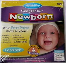 """HOWBILITY - CARING FOR YOUR NEWBORN DVD """"What Every Parent Needs To Know"""" >NEW<"""