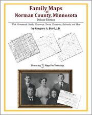 Family Maps Norman County Minnesota Genealogy MN Plat