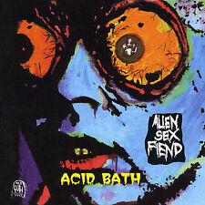 Acid Bath by Alien Sex Fiend (CD, Nov-2005, Goth)