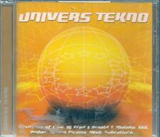 CD COMPIL 20 TITRES--UNIVERS TEKNO--ATB/WEB/SASH/666...