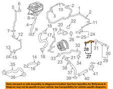 AUDI OEM 10-12 R8 5.2L-V10 Cooling-Elbow 07L121131K