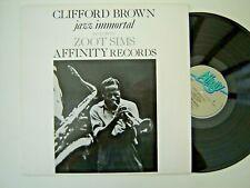 CLIFFORD BROWN - JAZZ IMMORTAL - UK AFFINITY RECORDS 1984 LP MINT - VINYL