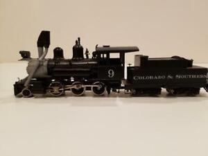 HOn3 Lambert C&S 2-6-0 brass locomotive
