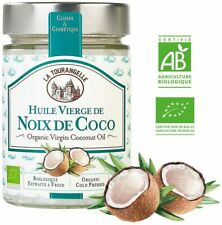 Huile Vierge Noix de Coco BIO 100% Pure Naturelle Bocal 314 ml Beaute Soin
