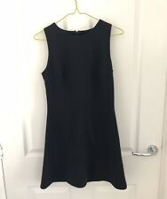Asos Black Shift Dress Size 8 Work Office