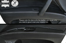 PUNTO bianco 2x PORTA ANTERIORE Bracciolo in pelle copre si adatta a Audi q7 4l 2006-2015