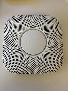 nest smoke alarm. battery
