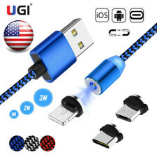 US Magnetic Charger Cable Micro USB Cable For iPhone XR XS Max X Magnet Charger