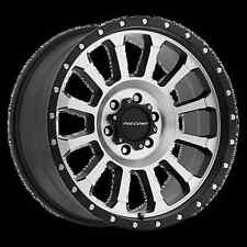 "20"" Pro Comp Offroad Series 43 Sledge Black Milled Wheels Rims"