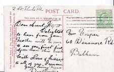 Genealogy Postcard - Family History - Vosper - Dinsmore Road - Bulham   U2385