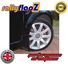 rallyflapZ  AUDI TT Coupe (1999-2006)Mud Flaps Mudflaps Black 4mm PVC Rings Logo