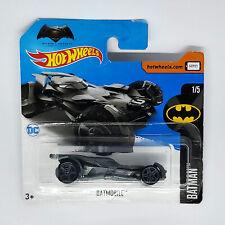 Hot Wheels Batmobile Modellino Automobile Auto DC Batman v Superman 1/5 Grigia